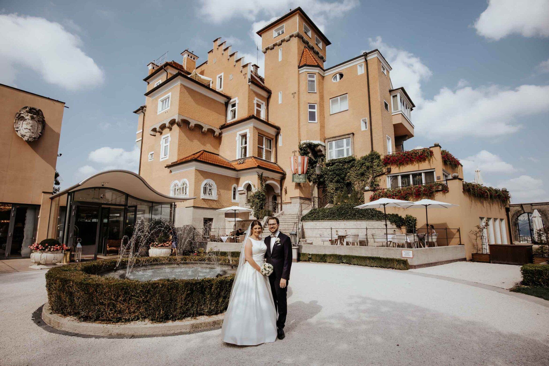 Heiraten Schloss Mirabell, Schloss Mönchstein