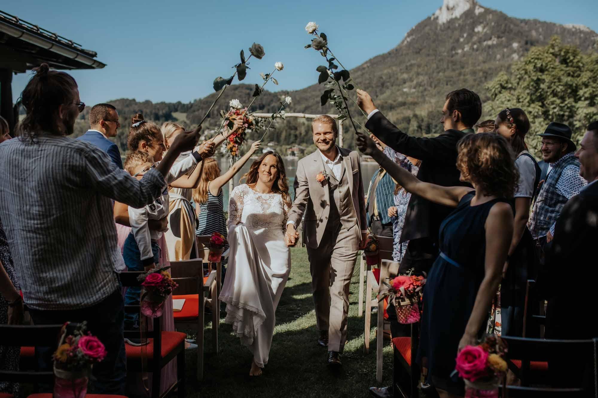 Heiraten Fuschl am See, Seehochzeit, Brunnwirt, Katrin Kerschbaumer